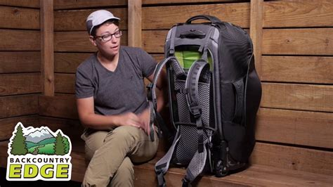 osprey sojourn  wheeled convertible travel pack youtube