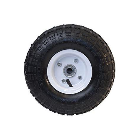 garden cart replacement wheels aleko 174 wap10 pneumatic replacement wheel for wheelbarrow