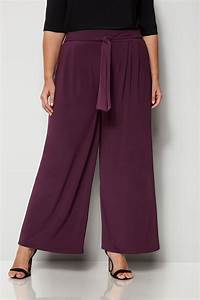 Bon Price Mode : yours london pantalon ample bordeaux grande taille 44 60 ~ Eleganceandgraceweddings.com Haus und Dekorationen