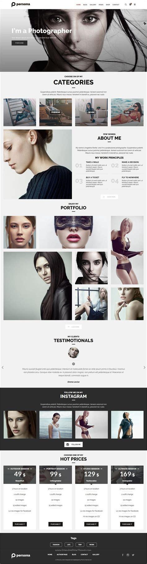 webdesign websites photography website design