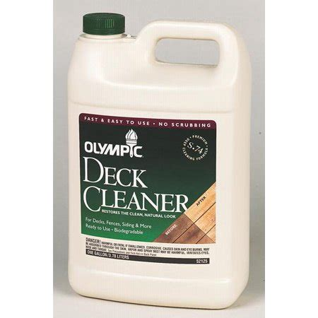 olympic  premium deck cleaner  gallon walmartcom
