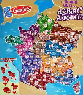 Carte De Region Le Gaulois by Le Grand Quiz Des D 233 Part Aimants Magnets Le Gaulois 2018