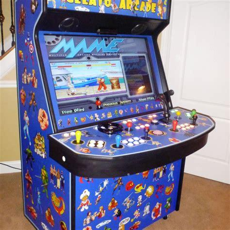 Mame Cabinet Plans 4 Player by Les Bornes D Arcade Les Plus Laides 5 Minutes