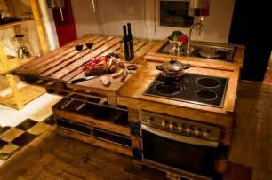 kitchen islands ebay arredare con il riciclo creativo i pallet greenme