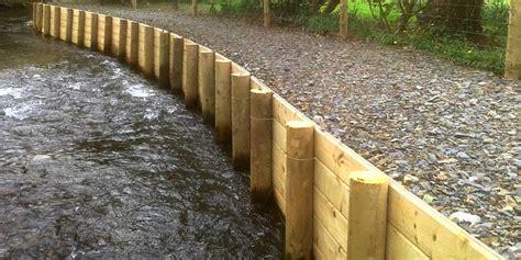 timber revetment ks fencing