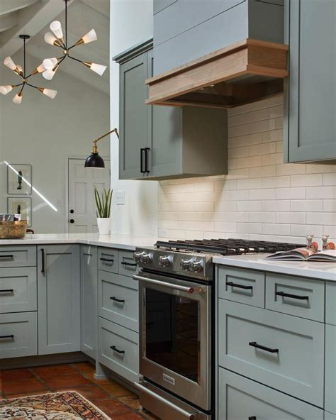 farrow pigeon kitchen cabinets interiors by color