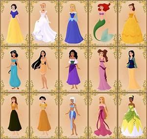 Disney Princesses (game complete) by jjulie98.deviantart ...