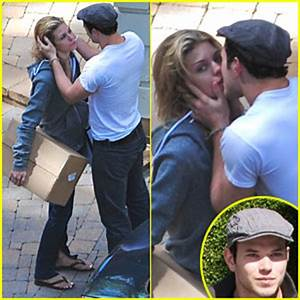 Kellan Lutz & AnnaLynne McCord Caught Kissing | AnnaLynne ...