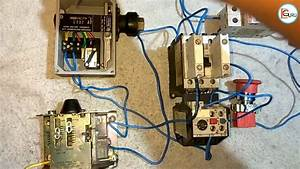 Automatic Starter Control With Pressure Switch