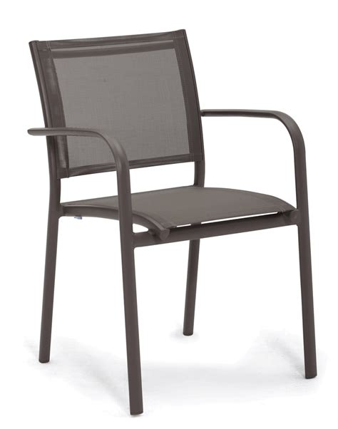 delaware aluminum batyline outdoor restaurant chair