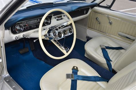 ford mustang interior restored photo