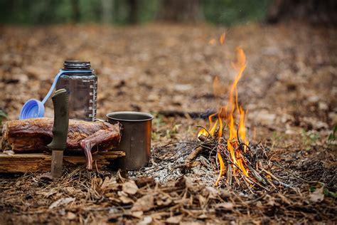 survival bushcraft skills training knife outdoor wild camp fire camping advanced schools tips grilled rabbit mean outdoors instinct tv mug