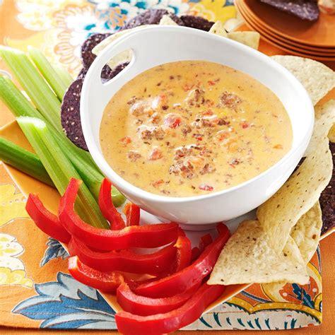 dips cuisine cooker cheese dip recipe taste of home