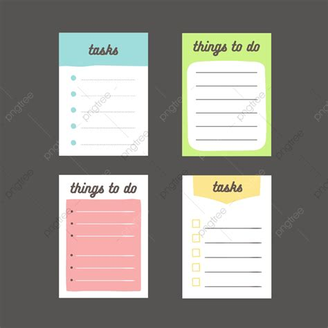 list notes vector design abstract background