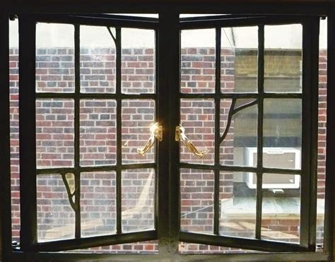 metal windows  historic buildings traditional building