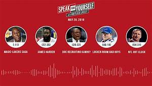 Speak For Yourself Audio Podcast  5 29 19  With Marcellus