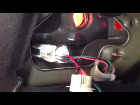 Tail light socket replacement #1 - YouTube