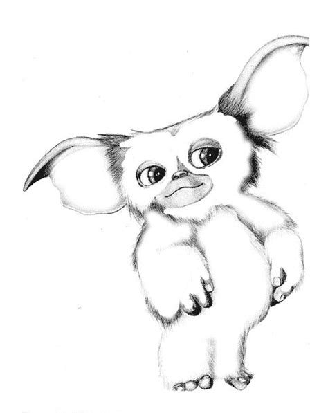 Gizmo Kleurplaat by Gremlins Coloring Page Coloring Sheets In 2019