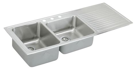 elkay stainless steel kitchen sink elkay gourmet lustertone ilgr5422 topmount bowl 8865