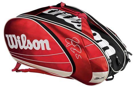 wilson blx  federer super  racquet bag