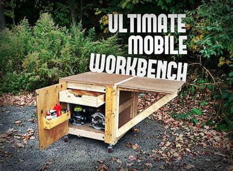 ultimate mobile workbench woodwork city  woodworking