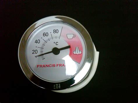 Francis Francis X1-x6 Temperature Guage