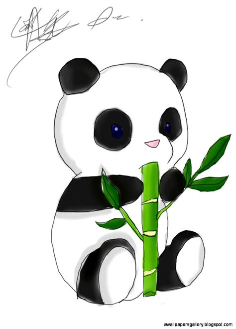 Anime Panda Wallpaper - panda chibi wallpaper wallpapers gallery