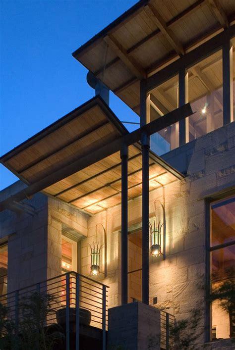 rumah batu sederhana  keluarga desain rumah modern