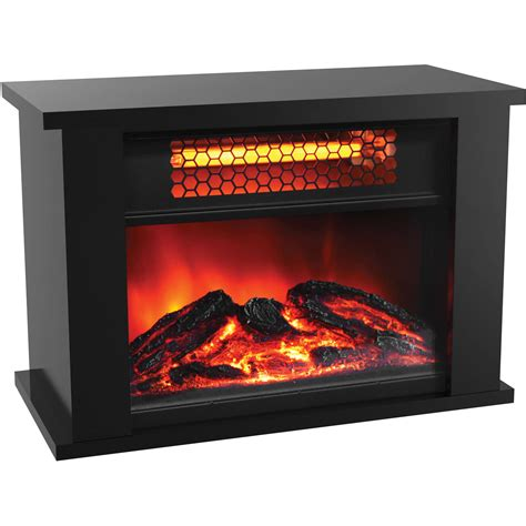 Decor Flame Infrared Electric Stove Walmart by Free Standing Electric Fireplace Home Decor Electric