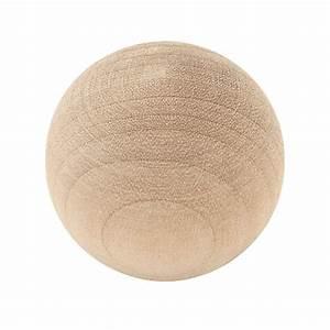 Liberty 1-1/4 in Birch Ball Wood Cabinet Knob-P10506H-BIR