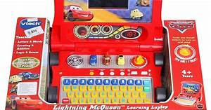 The learning laptop toy from Vtech Vtech Cars Lightning