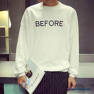 cheap men clothing sweatshirts personalized letters With embroidered letter sweatshirts