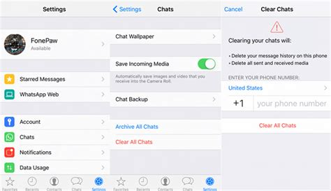 4 ways to delete whatsapp messages on iphone