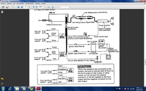 wire diagram kenwood model krc  fixya