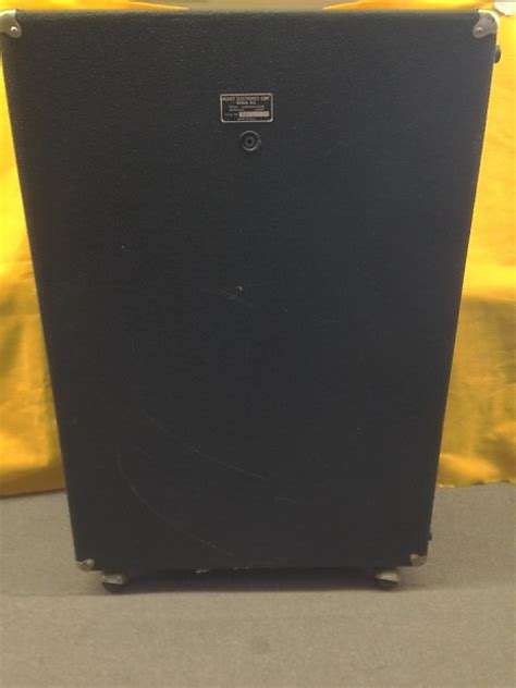 peavey bass cabinet peavey 412m 4x12 quot guitar bass speaker cabinet 2 ohms 1970s