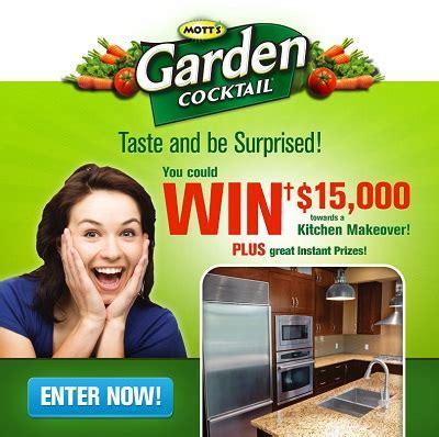 Enter Mott?s Garden Cocktail Taste & Be Surprised Contest