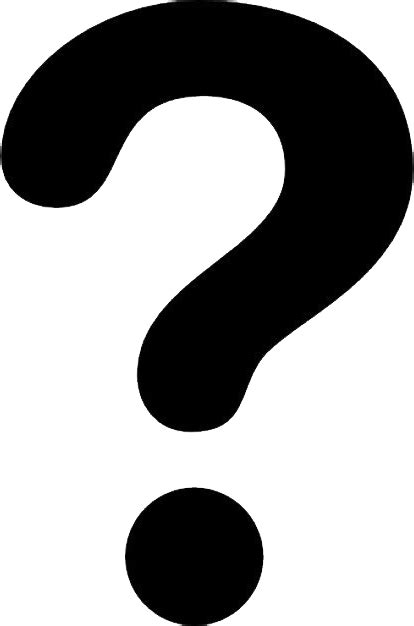 Question mark PNG