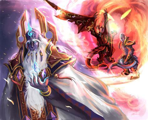 prophet velen deck frozen throne deck cartes l 233 gendaires velen hearthstone heroes
