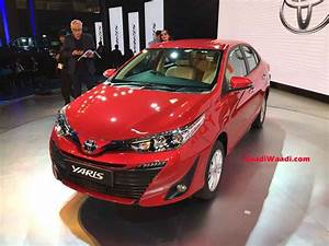 Auto Expo : 2018 auto expo toyota yaris sedan honda city rival unwrapped finally ~ Gottalentnigeria.com Avis de Voitures