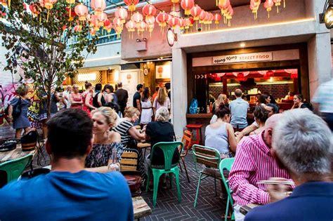 hawker cuisine spice alley laneway restaurants city secrets