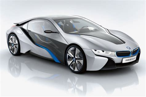 Bmw Has Unveiled The Electric Bmw I3 Concept And Bmw I8