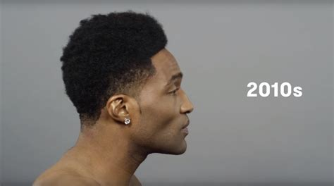 100 years of black hair cut revisits iconic men s