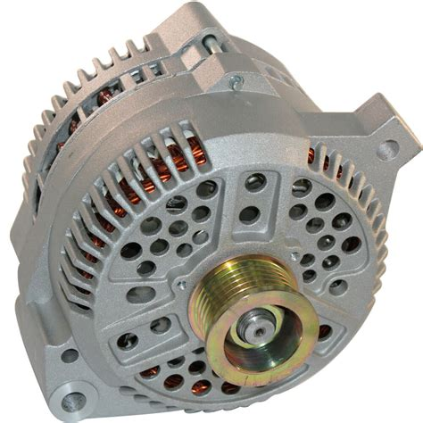 Amp High Output Alternator Fits Ford Mustang Wire