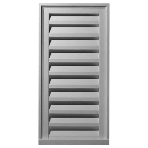 decorative gable vents products ekena millwork gable vents vertical gable vent louver