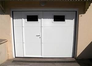 porte de garage sectionnelle avec portillon a mondelange With porte de garage sectionnelle motorisée avec portillon intégré