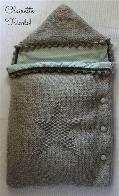 couverture pour siege auto les 25 meilleures idées de la catégorie nid d 39 ange tricot