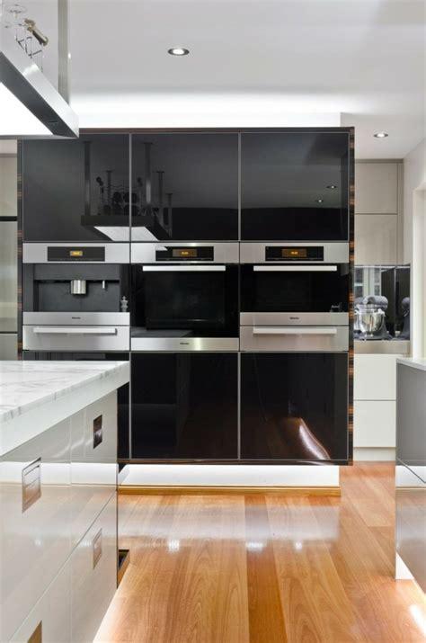 cuisine en noir et blanc la cuisine blanche et en 49 idées déco