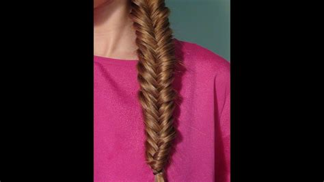 fishtail braid tutorial youtube