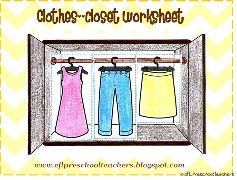 esl efl preschool teachers clothes theme for preschool ell 715 | Imagen1