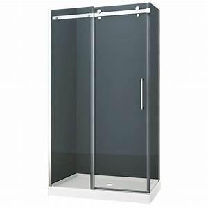 porte de douche seram 48 po douches et portes canac With prix porte de douche